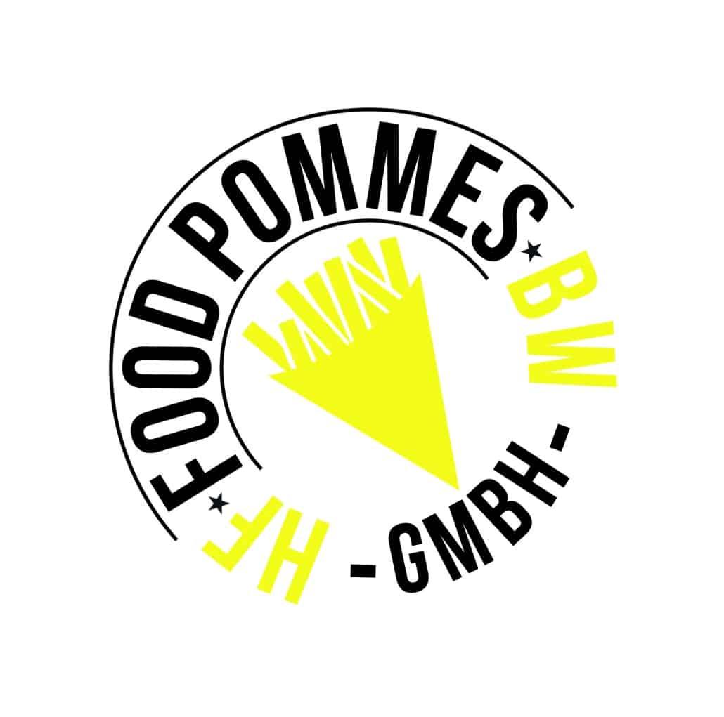 Logo gestaltung hf food pommes bw gmbh for Burodesign gmbh logo